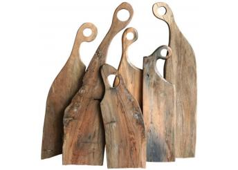 Kitchen Salvaged Boatwood Charcuterie Boards